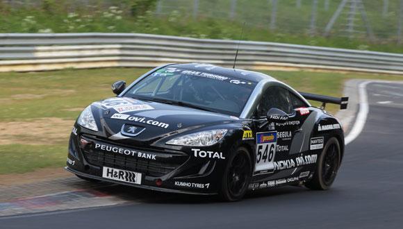 Peugeot RCZ 2.0 HDi FAP best diesel-powered car in the championship ...