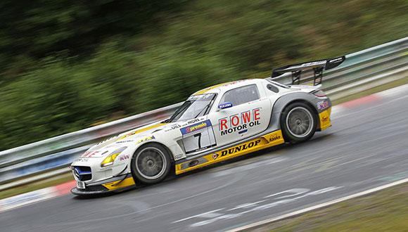 Both ROWE RACING SLS AMG GT3 retired | VLN de