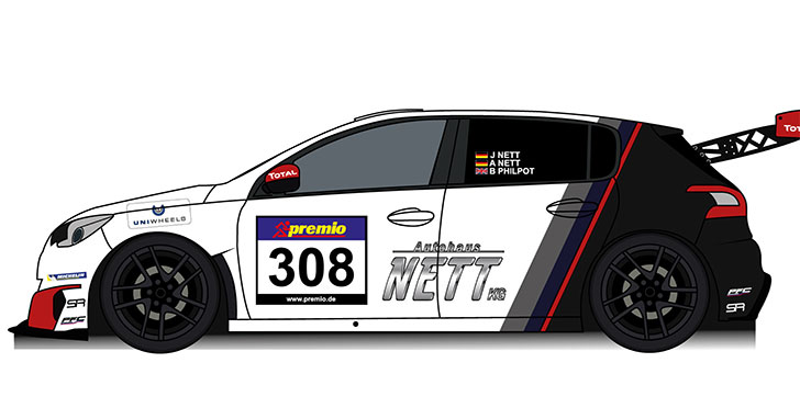Nett Motorsport Changes With Peugeot To The New Tcr Class Vlnde